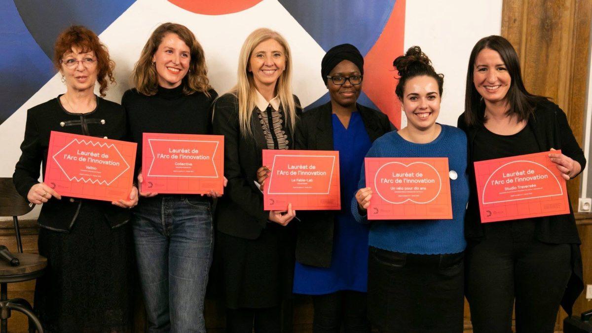 Remise Prix 1er appel à Projets de L'arc de l'innovation